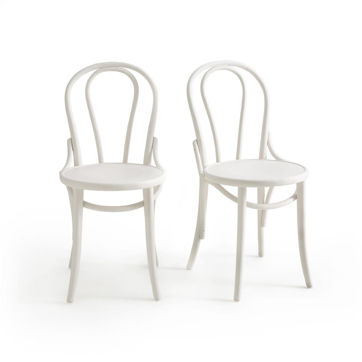 2 стула в стиле бистро TROKET2 стула в стиле бистро TROKET. Изготовленные по традиционной технологии стулья TROKET отличаются своей элегантностью и нестареющим стилем.Характеристики стула TROKET :Каркас из массива букаПокрытие нитроцеллюлозным лакомПродаются в собранном виде. Размеры стула TROKET :Общие :Ширина : 42,5 смВысота : 84,5 cmГлубина : 51 смРазмеры упаковки:- Ш97 x В53 x Г41 см Доставка :Доставка на этаж ! Внимание! Убедитесь в том, что дверные, лестничные и лифтовые проемы позволяют осуществить доставку товара с указанными габаритами.<br><br>Цвет: белый,черный
