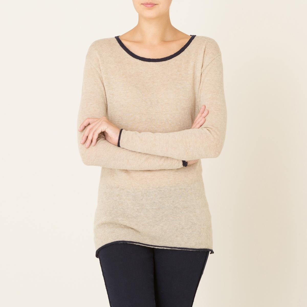 Пуловер PINTOПуловер DIEGA - модель PINTO. Свободный вырез, рукава и низа с краями контрастного цвета.Состав и описание Материал : 50% полиамида, 40% альпаки, 10% очень тонкой шерстиМарка : DIEGA<br><br>Цвет: экрю/черный