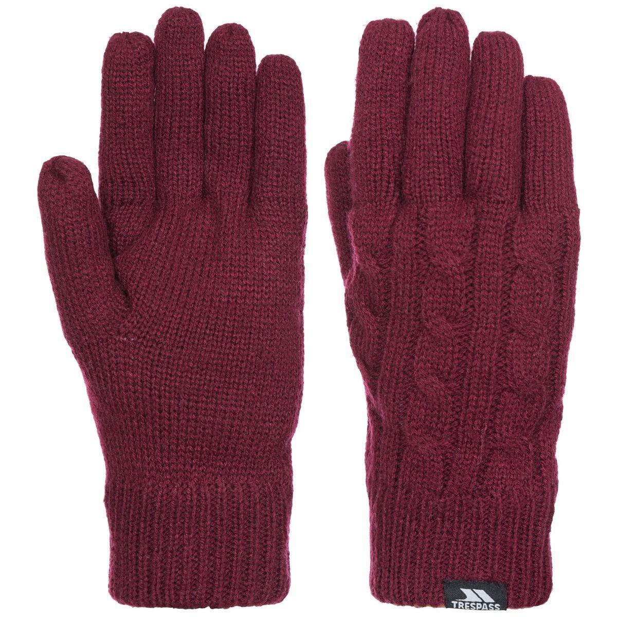 Gants tricotés
