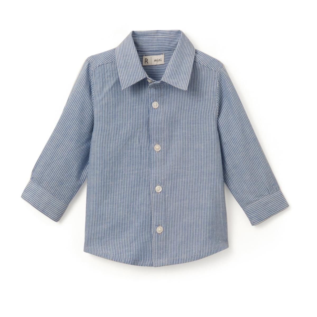 Рубашка в полоску, 1 мес.- 3 лет