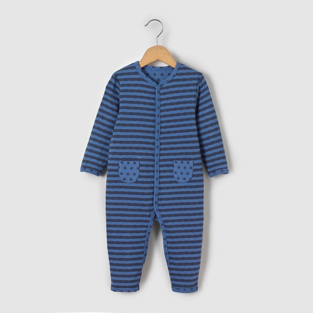 Пижама для новорожденных из джерси 0 мес-3 лет