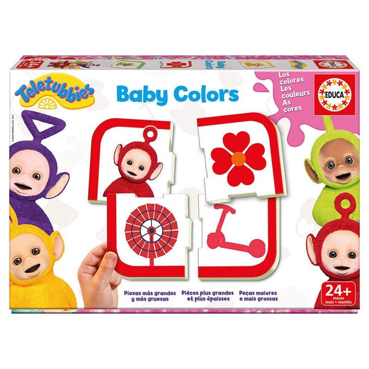 Apprendre les couleurs : Baby Colors Teletubbies
