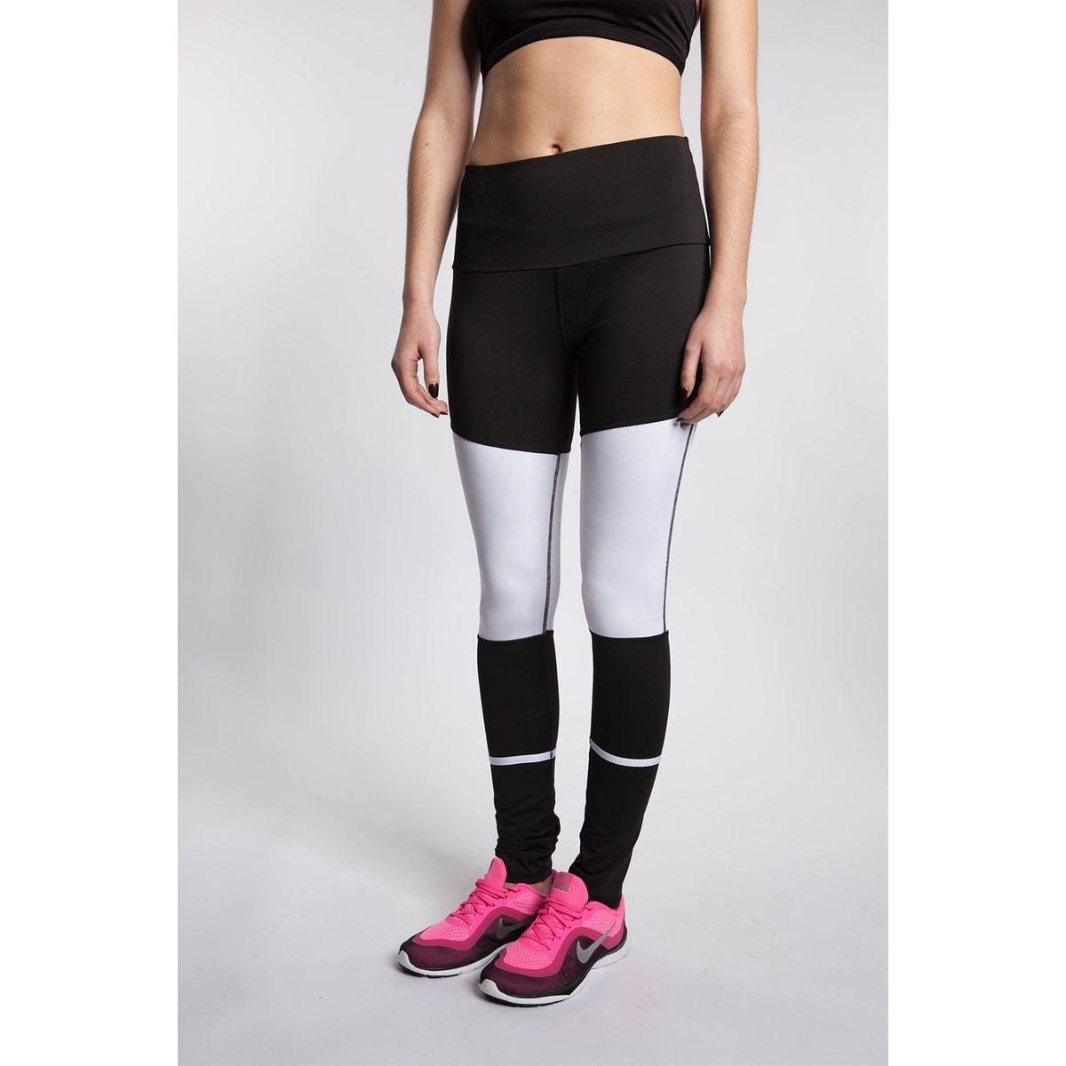 Legging de sport bi-color empiècement