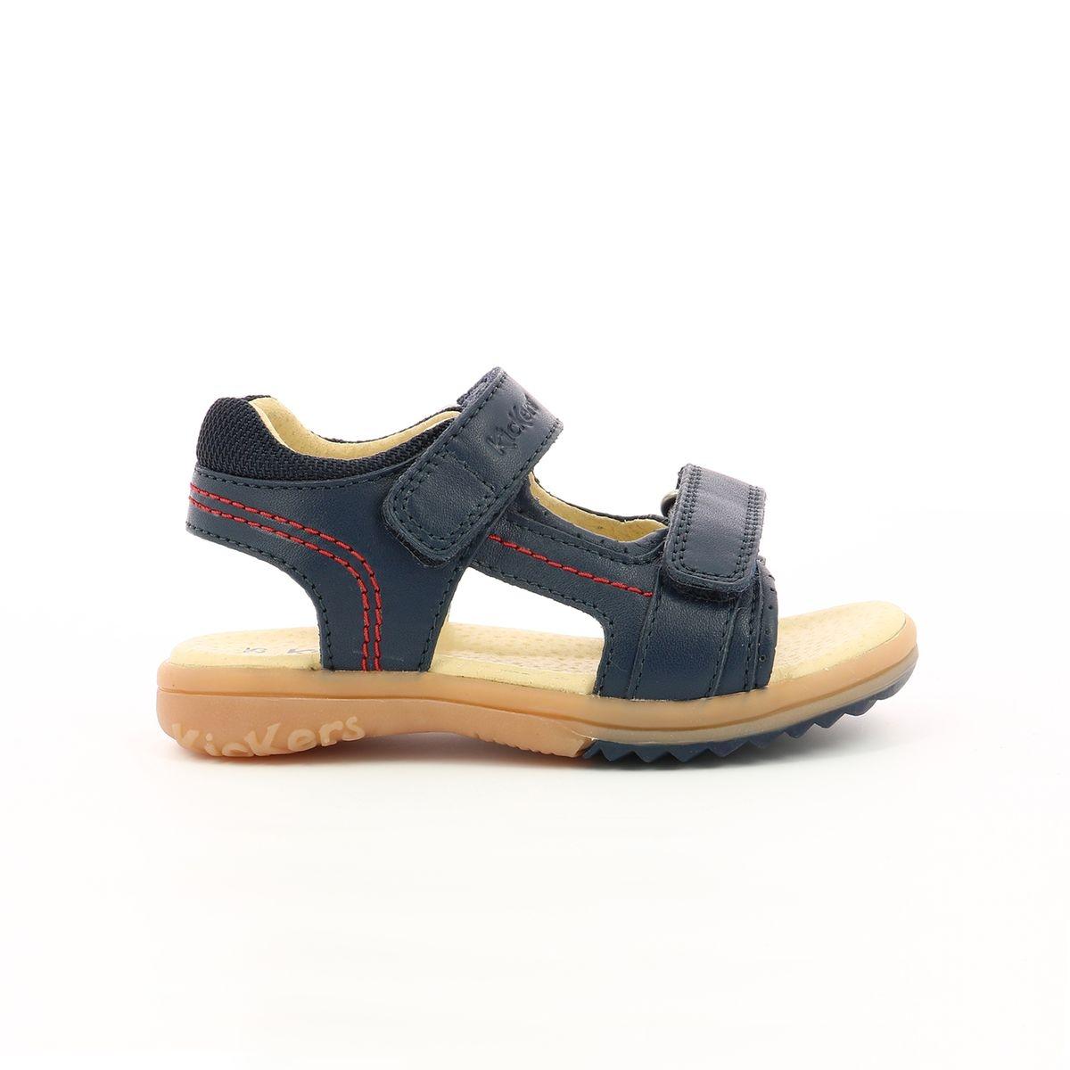 Sandales en cuir Platino