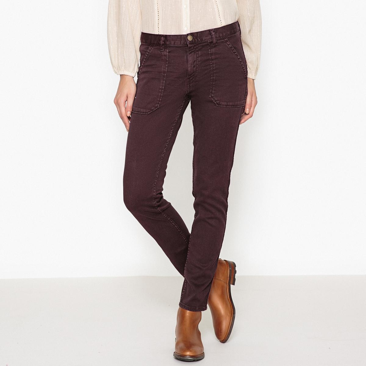 Джинсы из денима стретч покроя бойфит SALLY джинсы расклешенного покроя из денима стретч