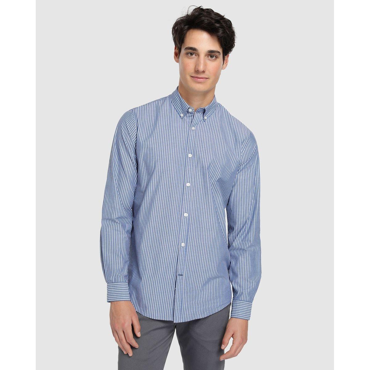 Chemise regular à motif