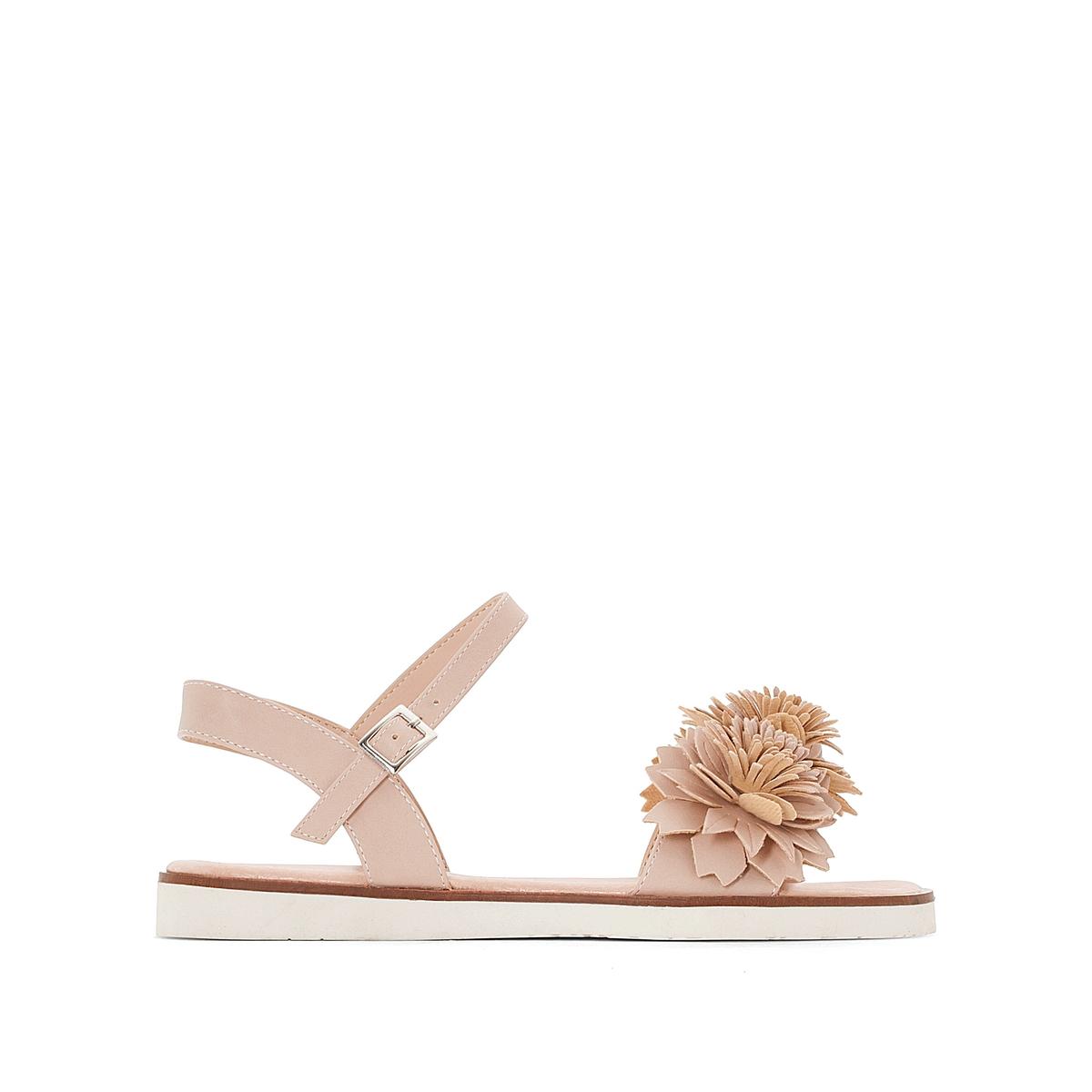 Босоножки на плоском каблуке, Acacia