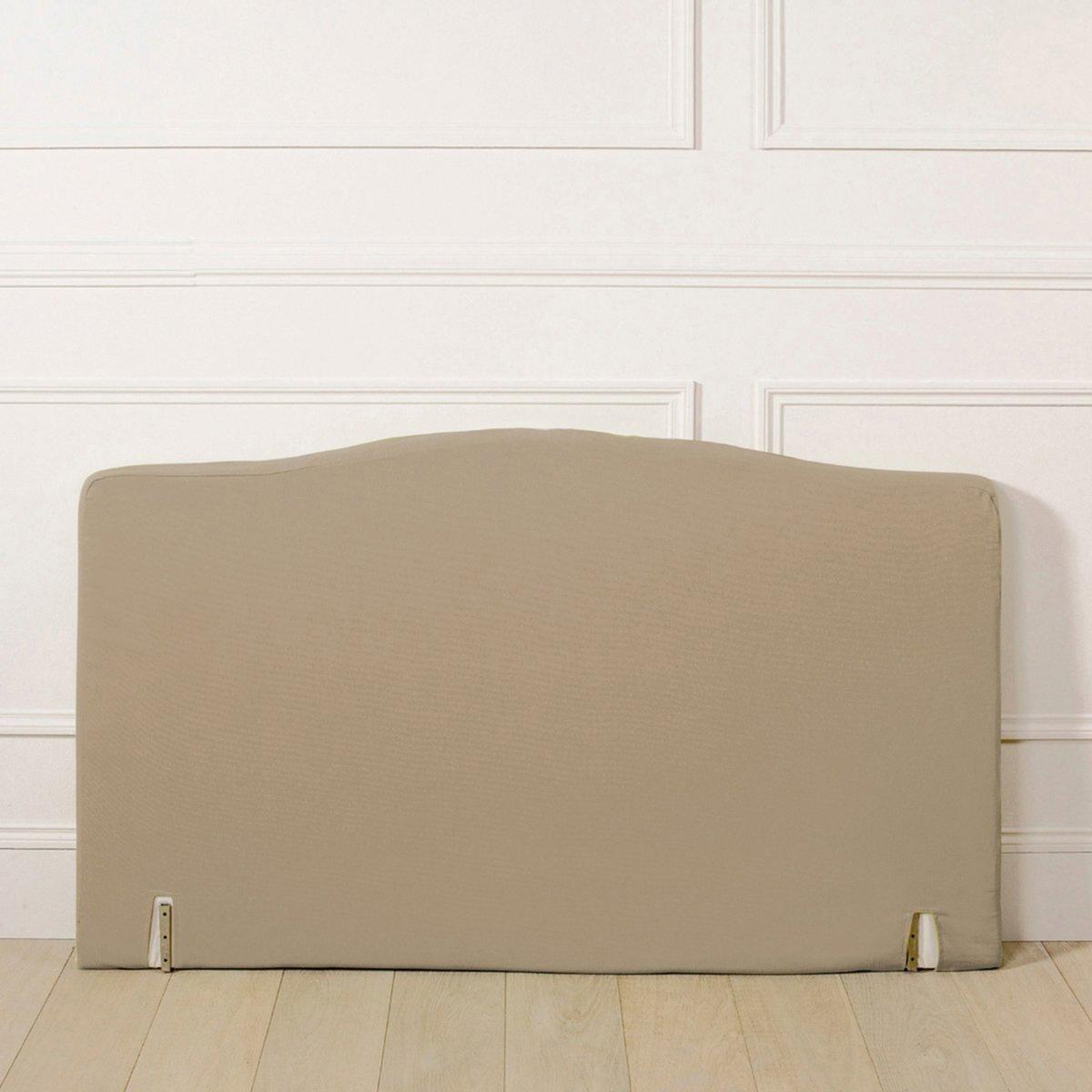 Чехол La Redoute Для изголовья кровати фигурной формы из поликоттона 90 x 85 см бежевый
