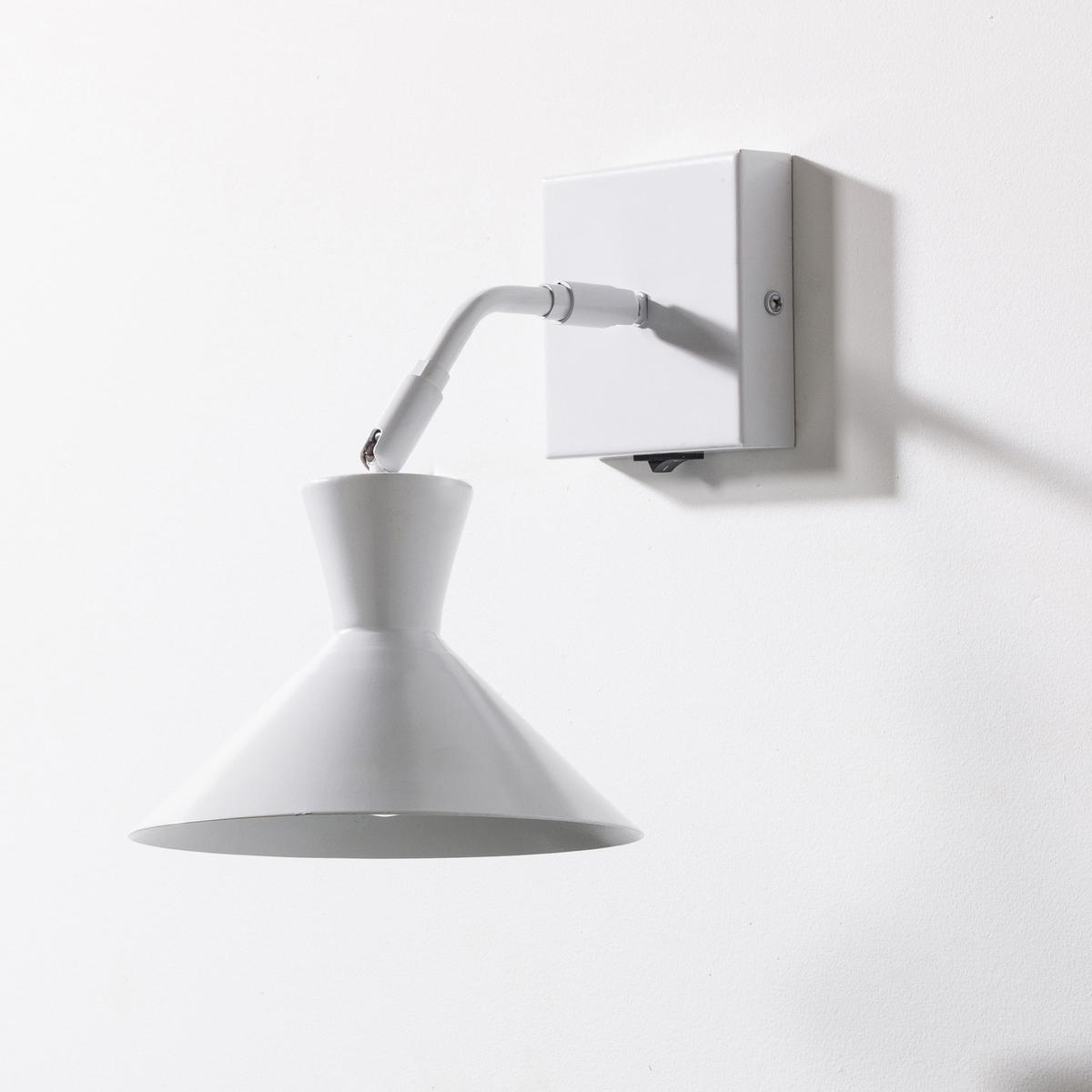 Lampada da parete Voltige in metallo