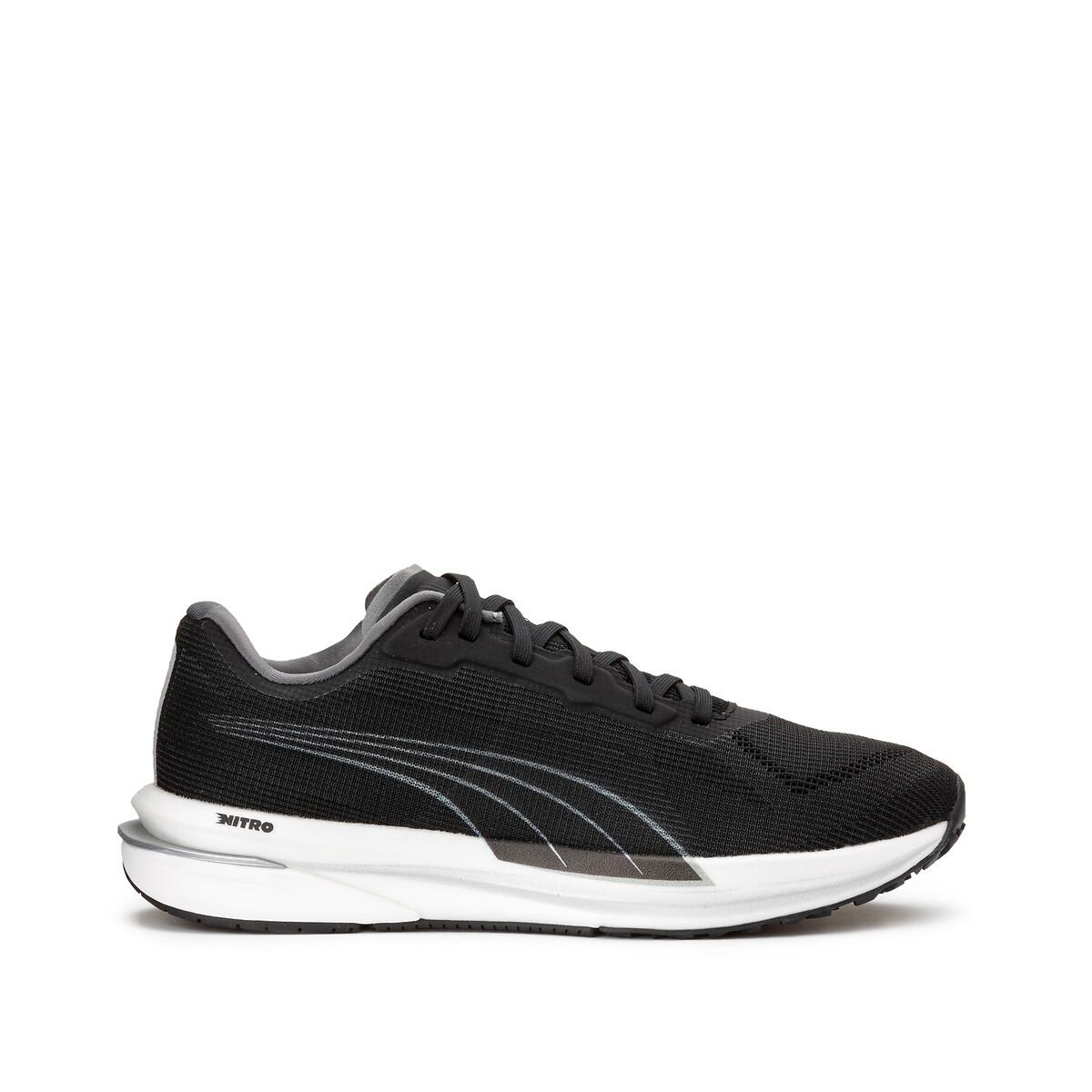 Puma Velocity Nitro Wns sportschoenen zwart/zilver online kopen