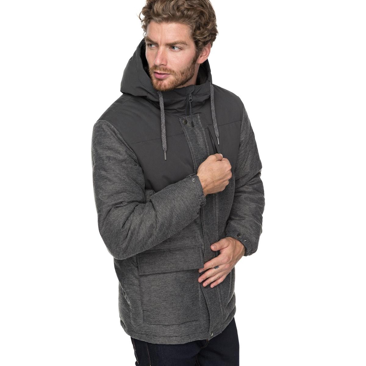 Anorak| Kapuzenfutter Sherpa | Sportbekleidung > Sportmäntel | Grau | Polyester - Taft | QUIKSILVER