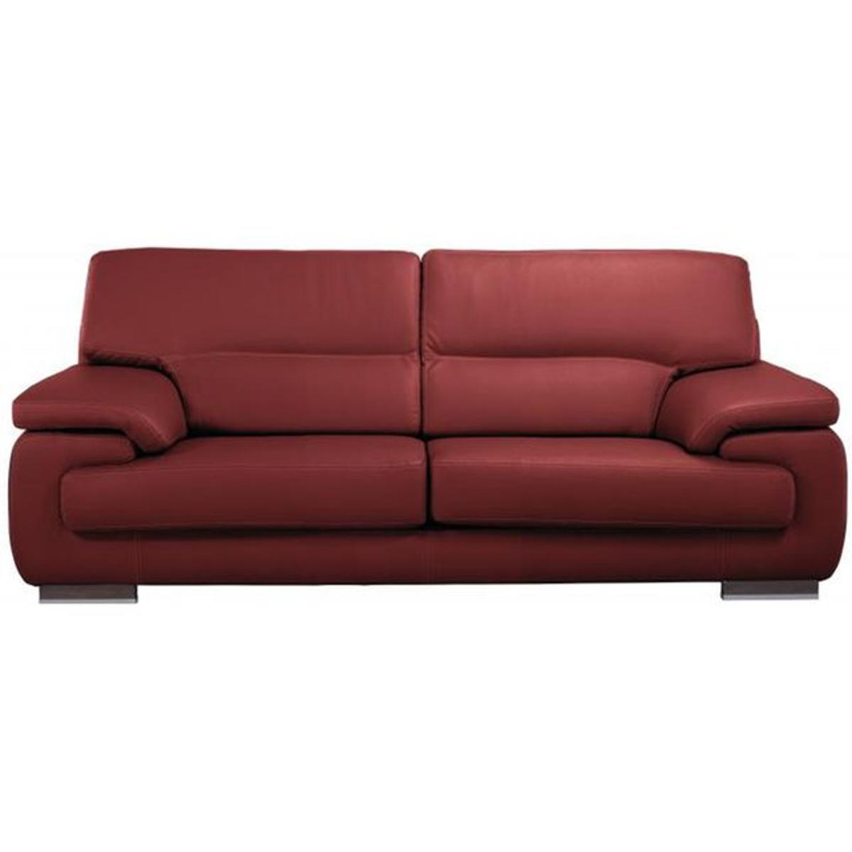 Canapé 2 places en cuir JOHN