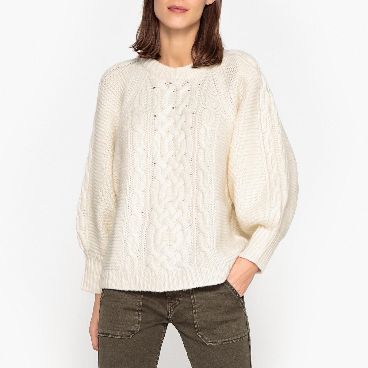 Пуловер с круглым вырезом из оригинального тонкого трикотажа FLIM