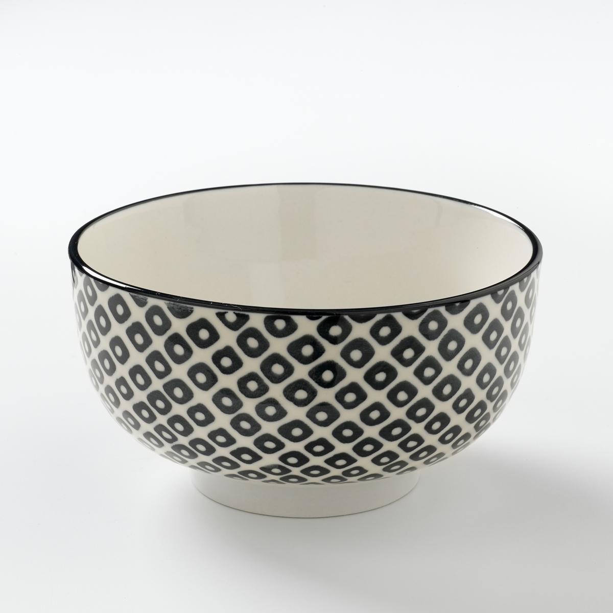Комплект из 4 мисок из фарфора Akiva 4 тарелки мелкие фарфоровые shigoni