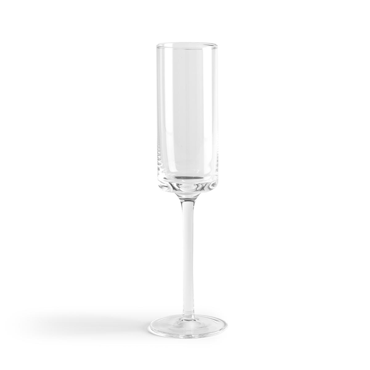4 фужера для шампанского COBLACE htovila цвет шампанского