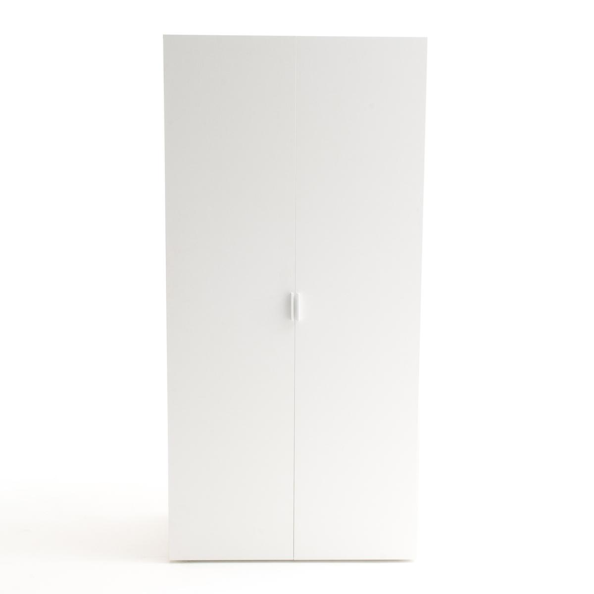 Шкаф с 2 дверцами и 2 полками+ гардероб REMIA