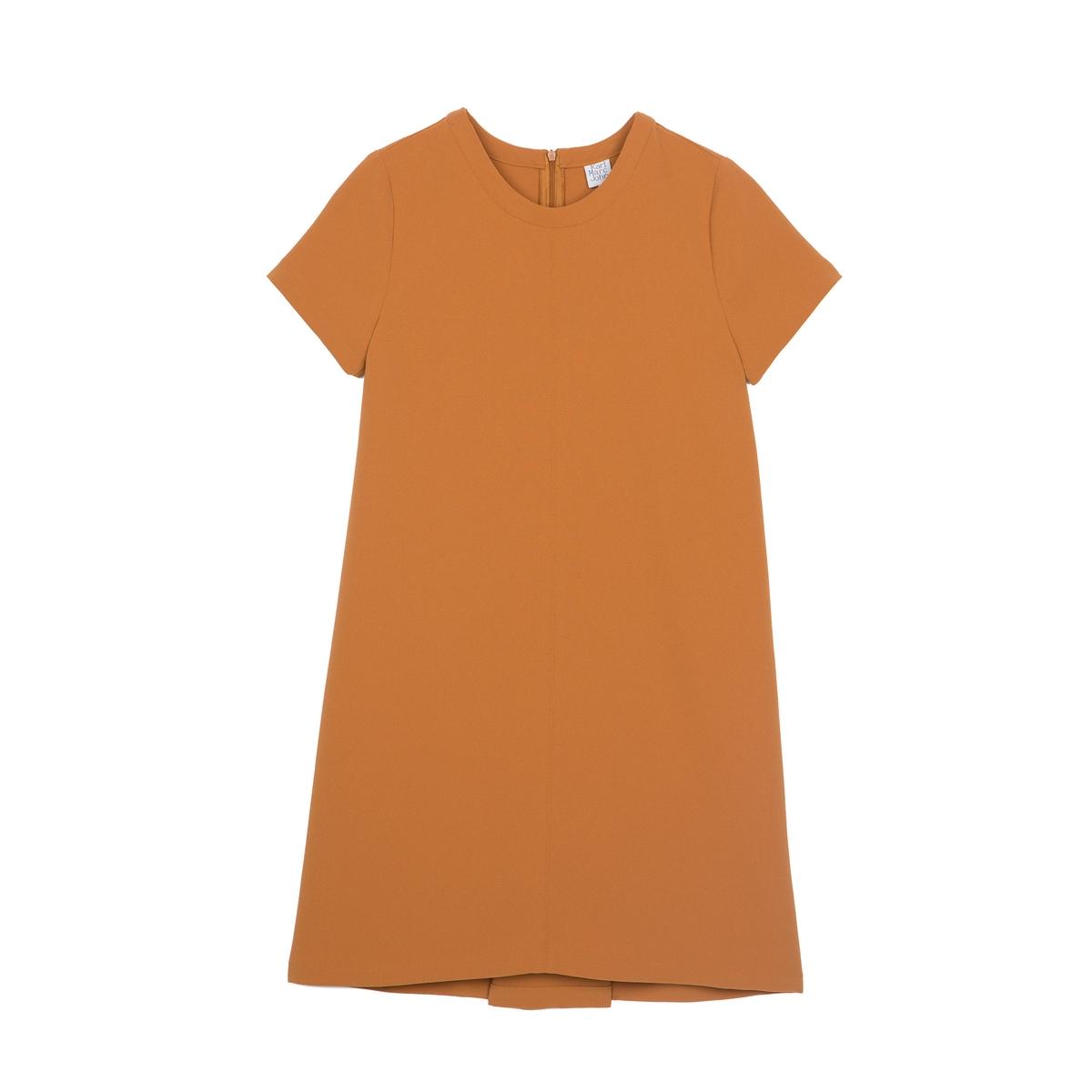 Платье с короткими рукавами RAMBO RAMBOСостав и описаниеМарка : KARL MARC JOHNМатериал :  100% полиэстер<br><br>Цвет: темно-бежевый<br>Размер: S