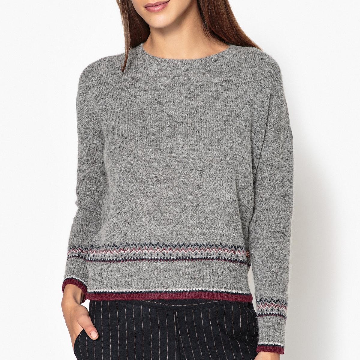 Пуловер с жаккардовым рисунком MANITOU