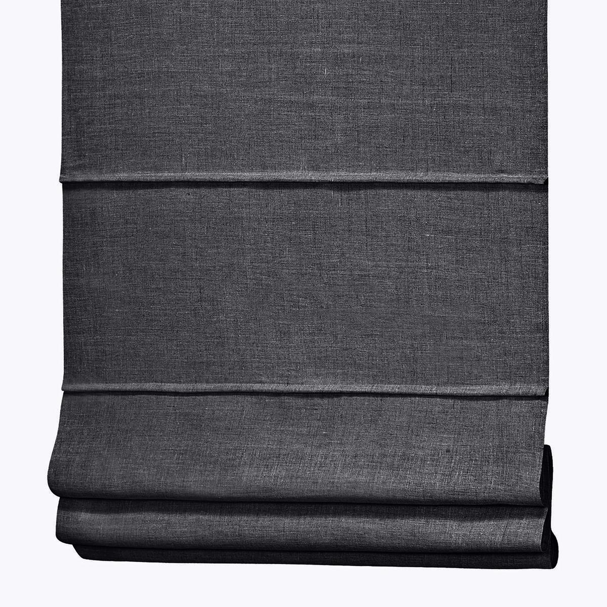Штора LaRedoute Римская из 100 льна Noli x 170 см серый