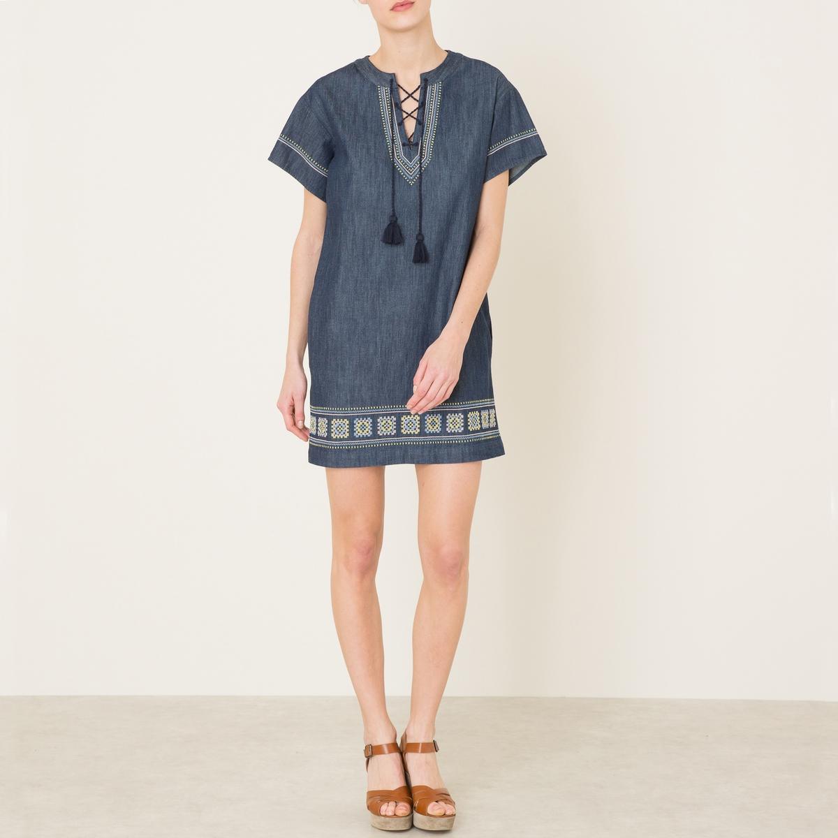 Платье с вышивкой GINIE платье с вышивкой