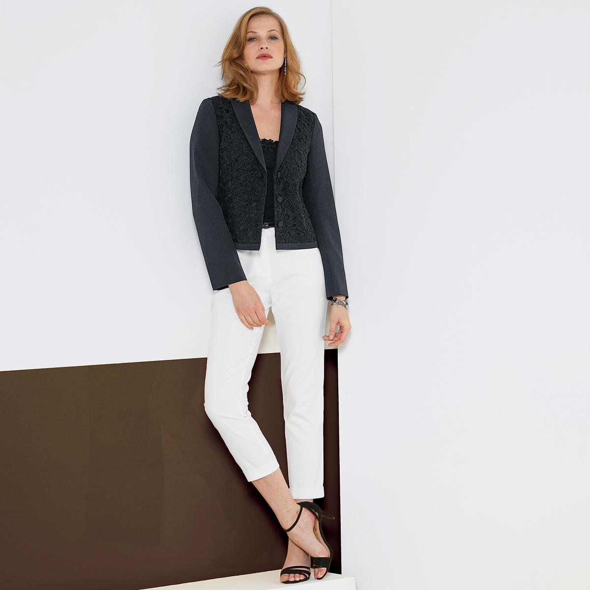 Imagen adicional 3 de producto de Pantalón recto con bolsillos fantasía - Anne weyburn