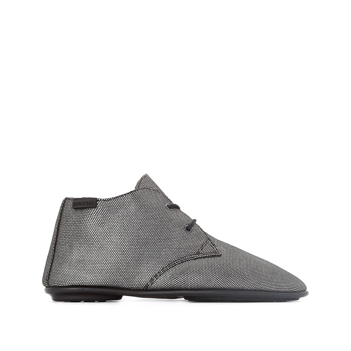 Ботинки-дерби высокие из кожи Scott ботинки дерби под кожу питона