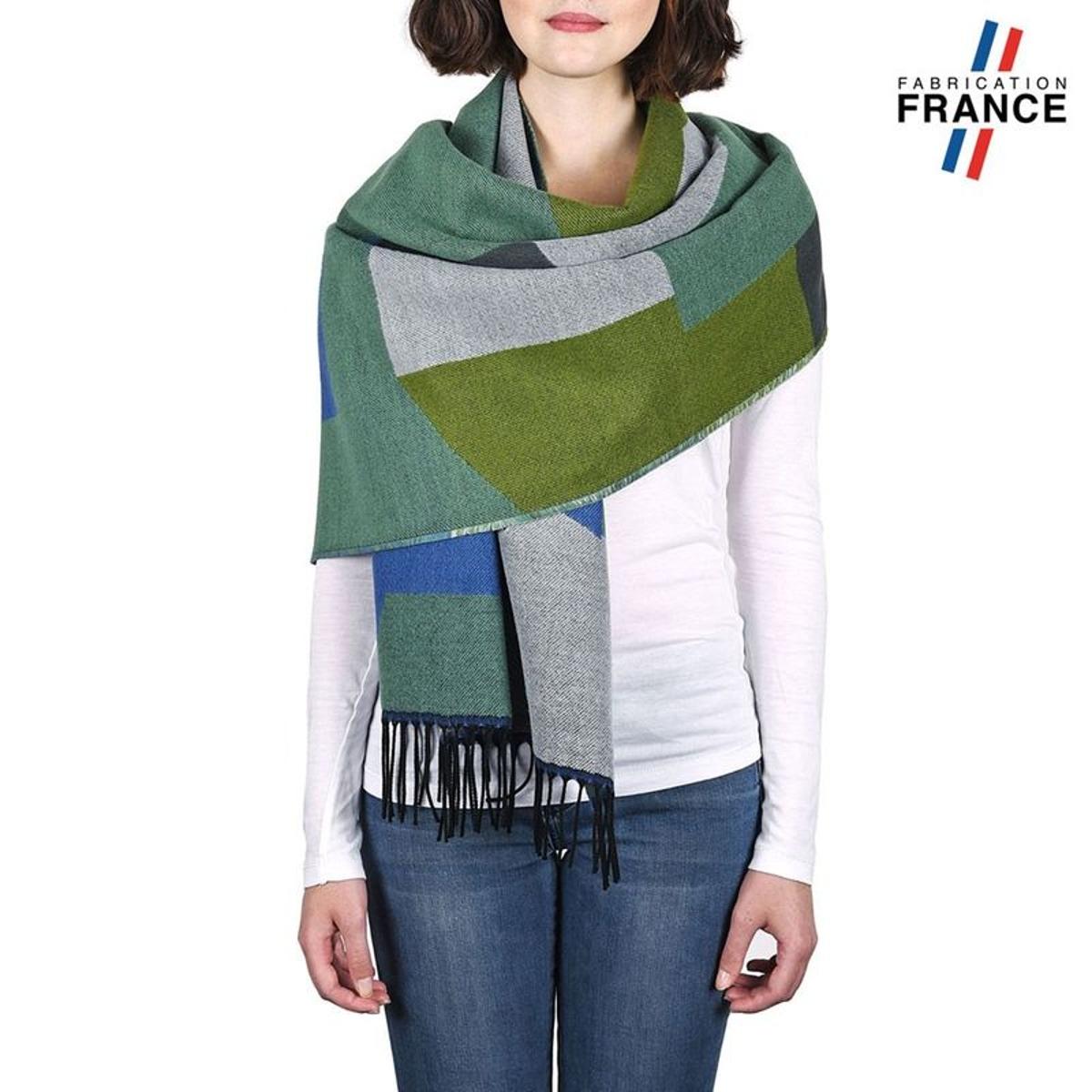 Châle patchwork WELA - Fabriqué en France