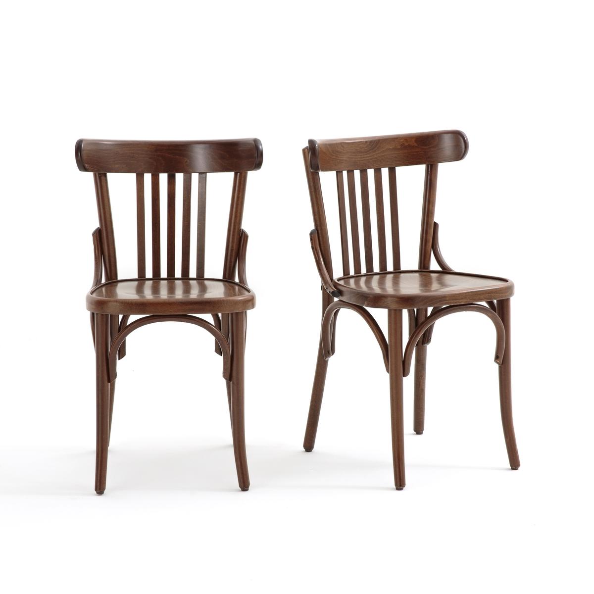 Комплект из стульев с La Redoute Перекладинами BISTRO единый размер другие комплект из высоких стульев la redoute bistro единый размер бежевый