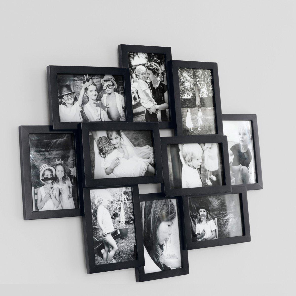 Рамка настенная для 10 фотографий, Iva от La Redoute