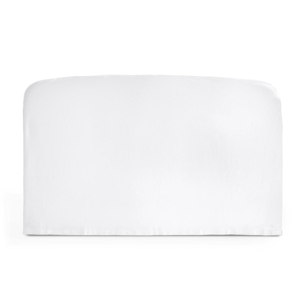 Чехол La Redoute Для изголовья кровати округлой формы из хлопка SCENARIO 140 x 85 см белый чехол из льна с помпонами для изголовья кровати sandor