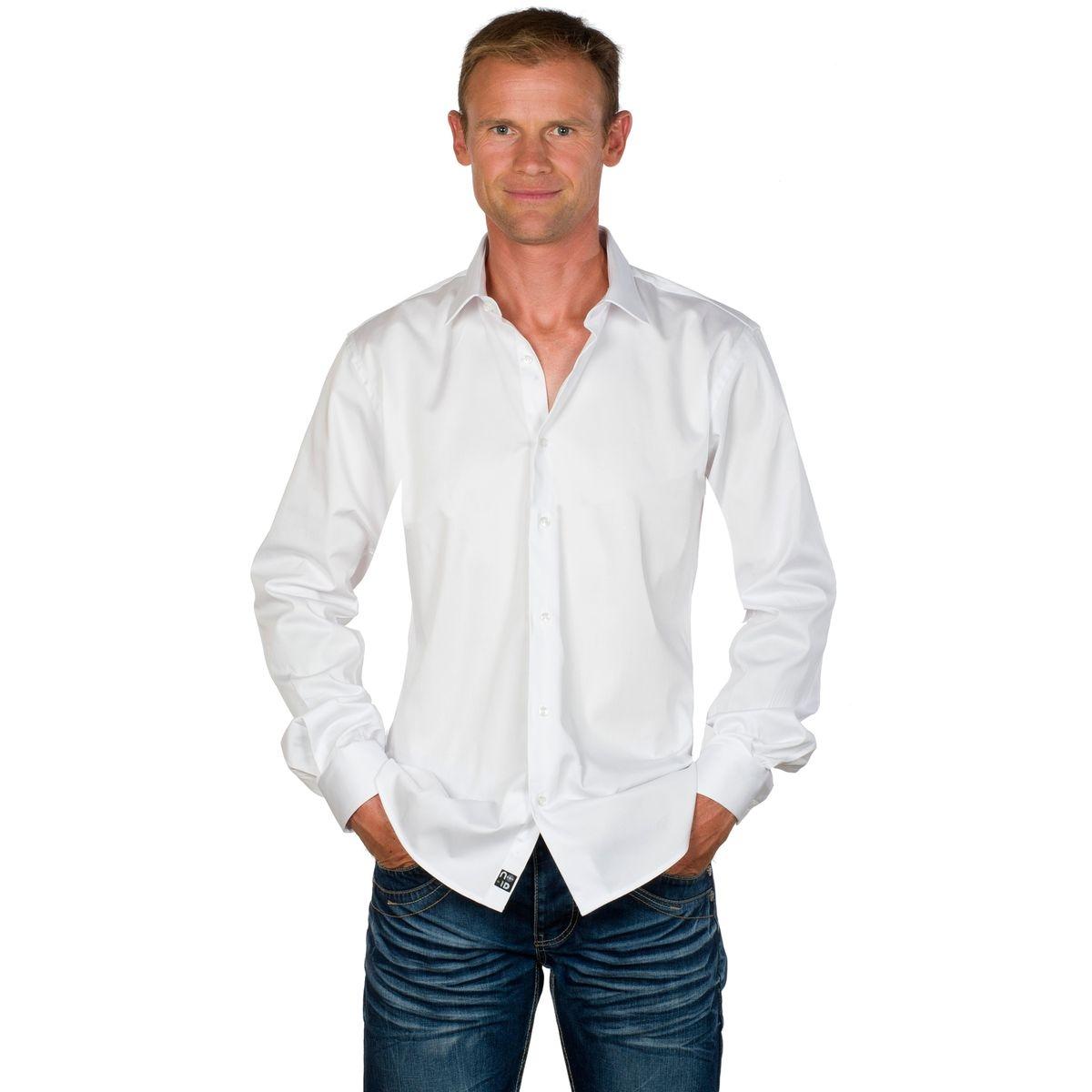Chemise classique homme coton easy iron