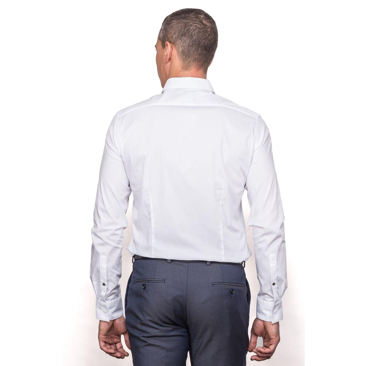 Chemise blanche lycra