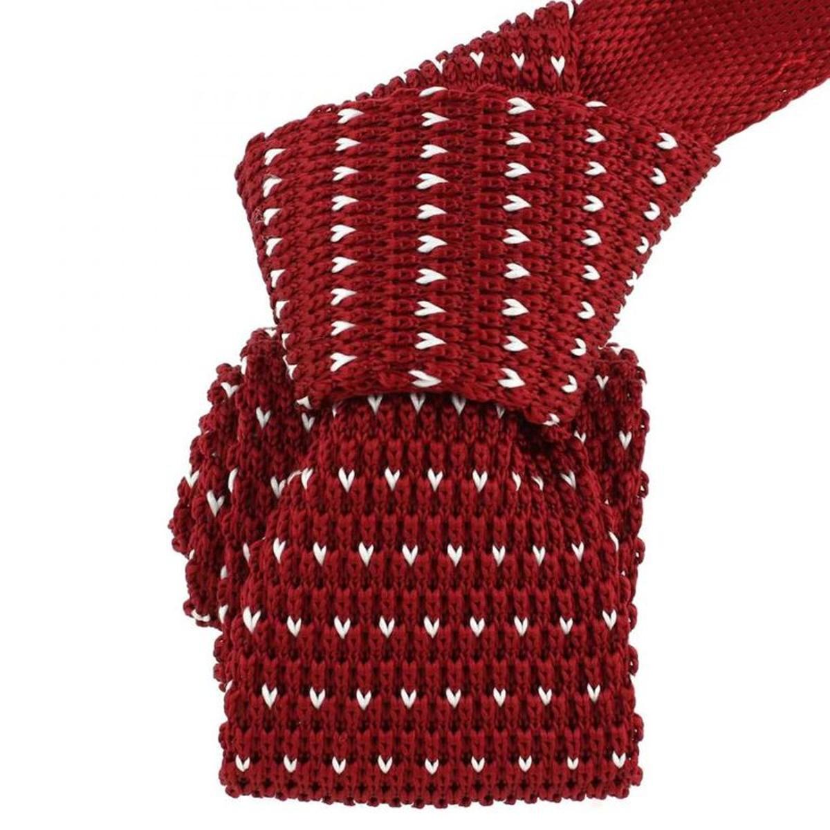 Cravate tricot  punta