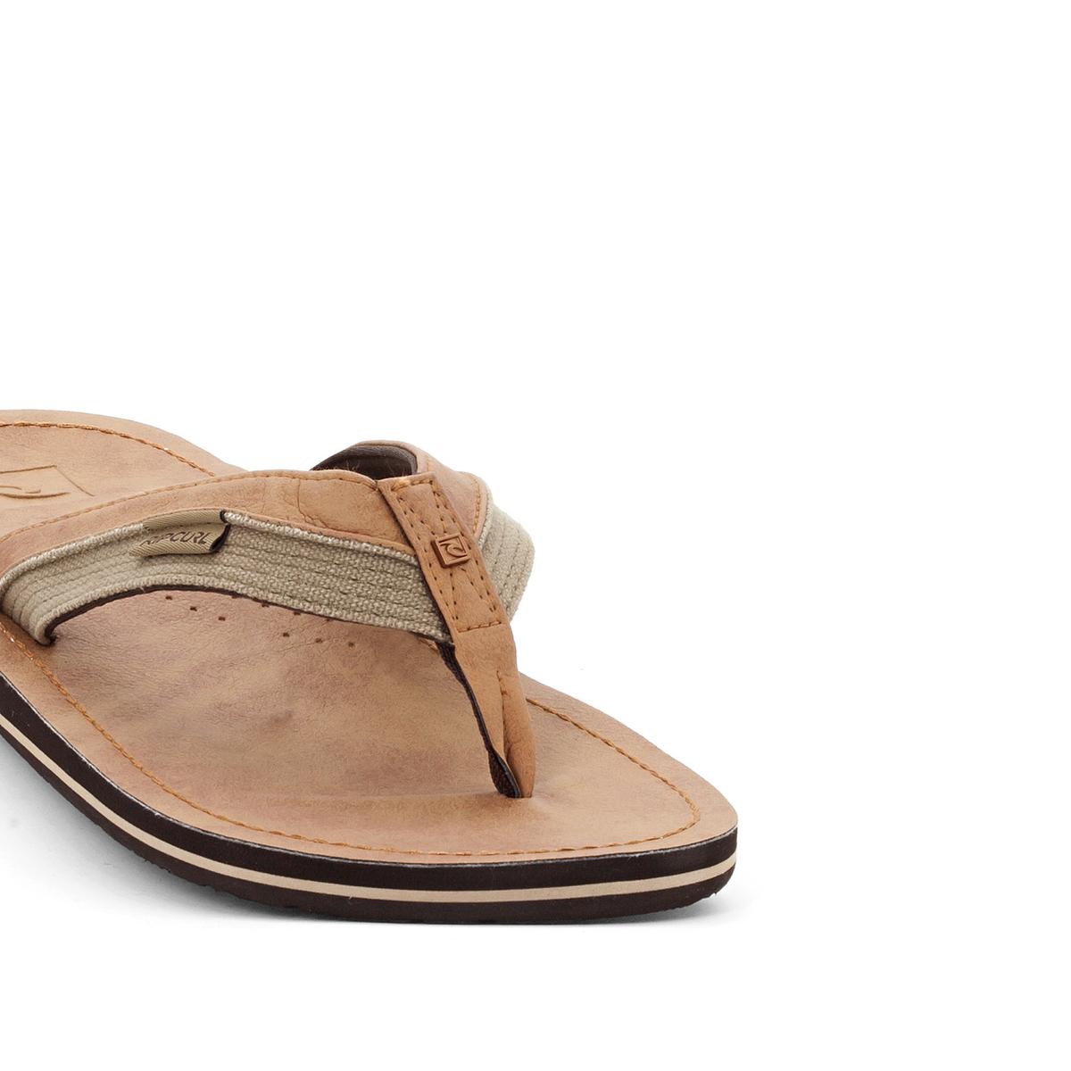 Вьетнамки OxВерх/Голенище : синтетика     Стелька : синтетика     Подошва : каучук     Форма каблука : плоский каблук     Мысок : открытый мысок     Застежка : без застежки<br><br>Цвет: темно-бежевый<br>Размер: 44