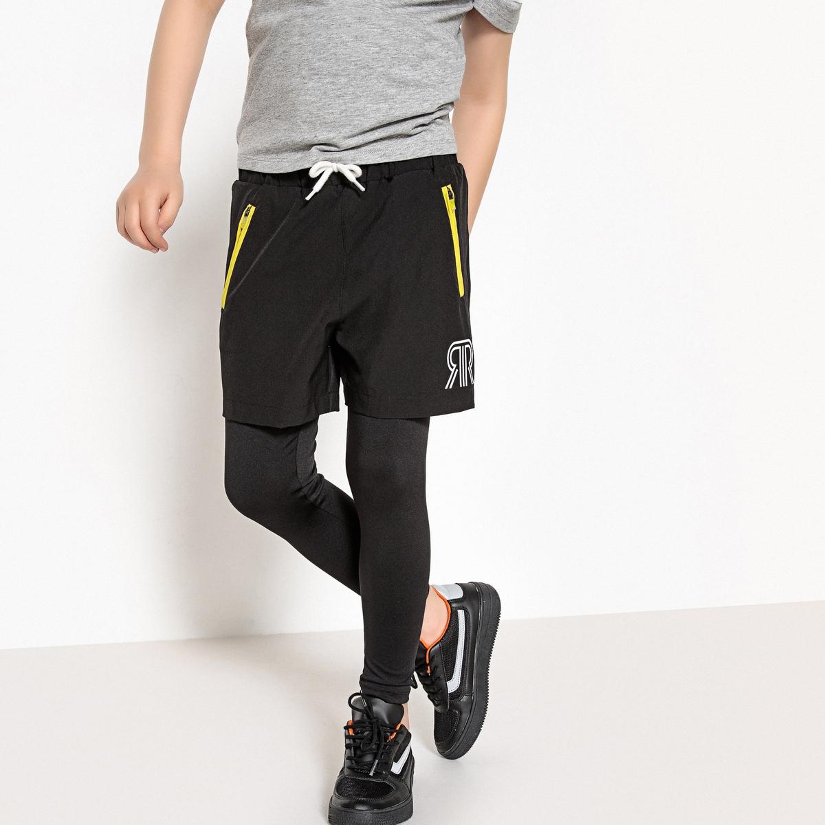 Комплект спортивный: шорты + леггинсы 3-12 лет