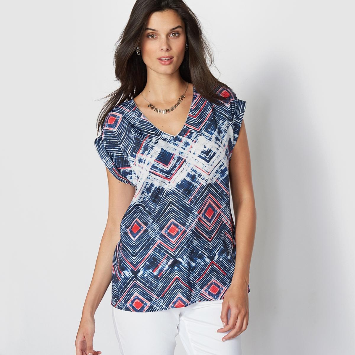 Блузка из струящейся ткани