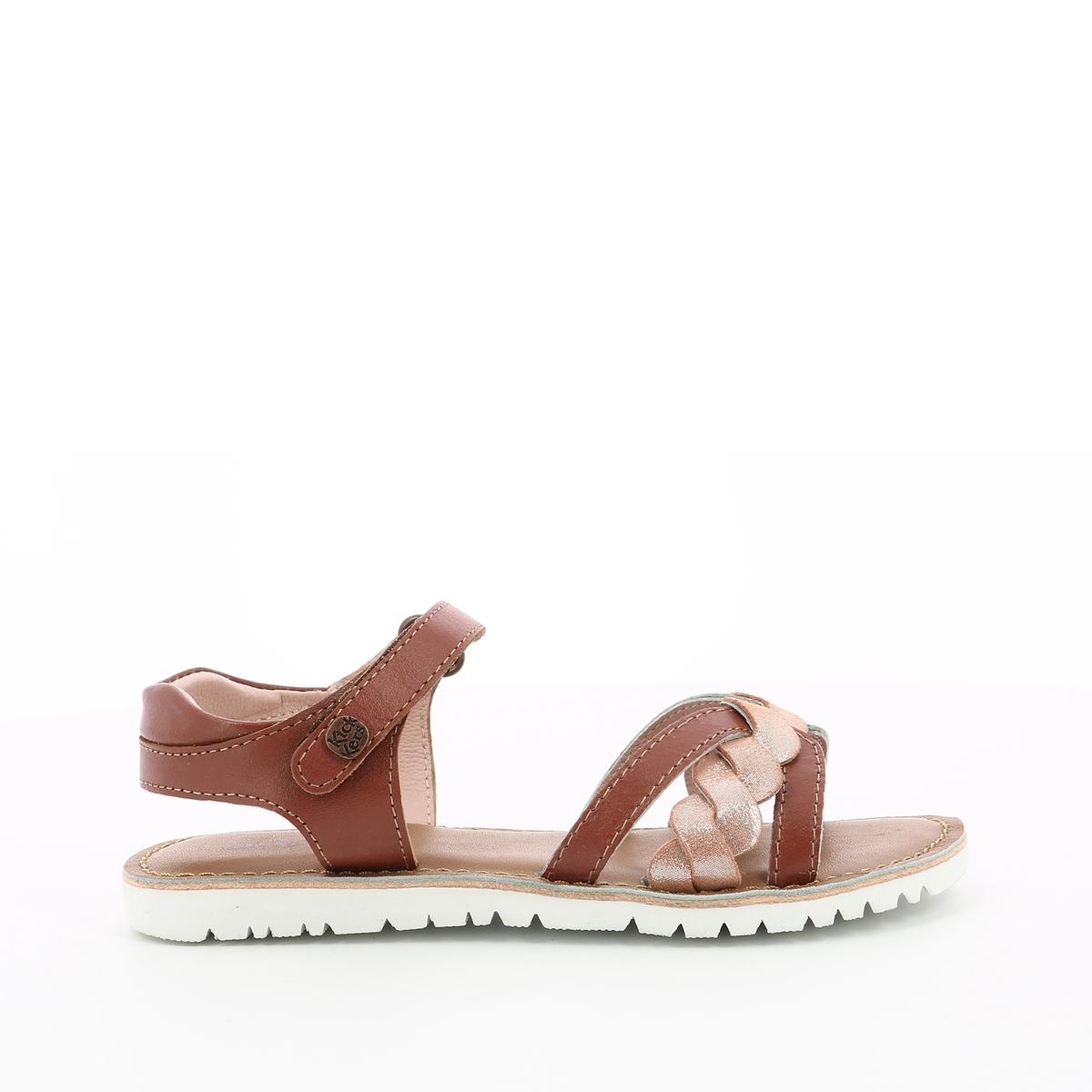 Sandálias em pele Betty