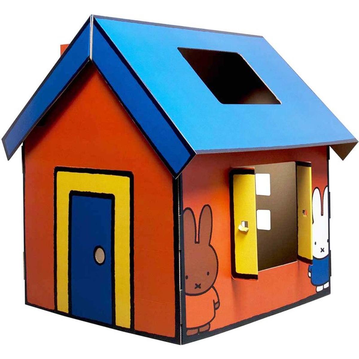 Maison en carton à construire Miffy