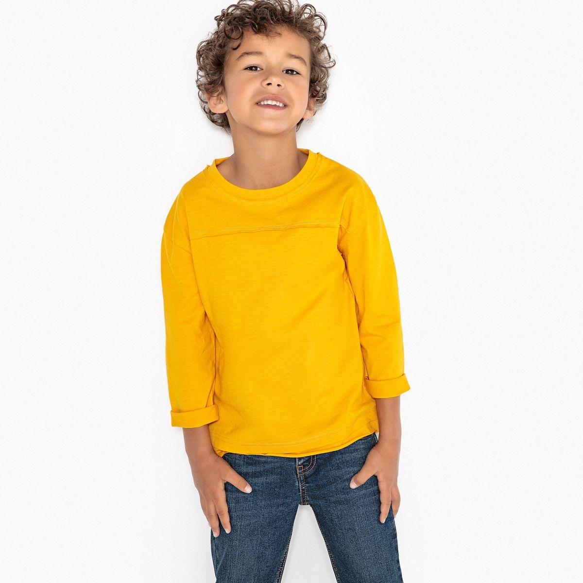 T-shirt manches longues oversize 3-12 ans