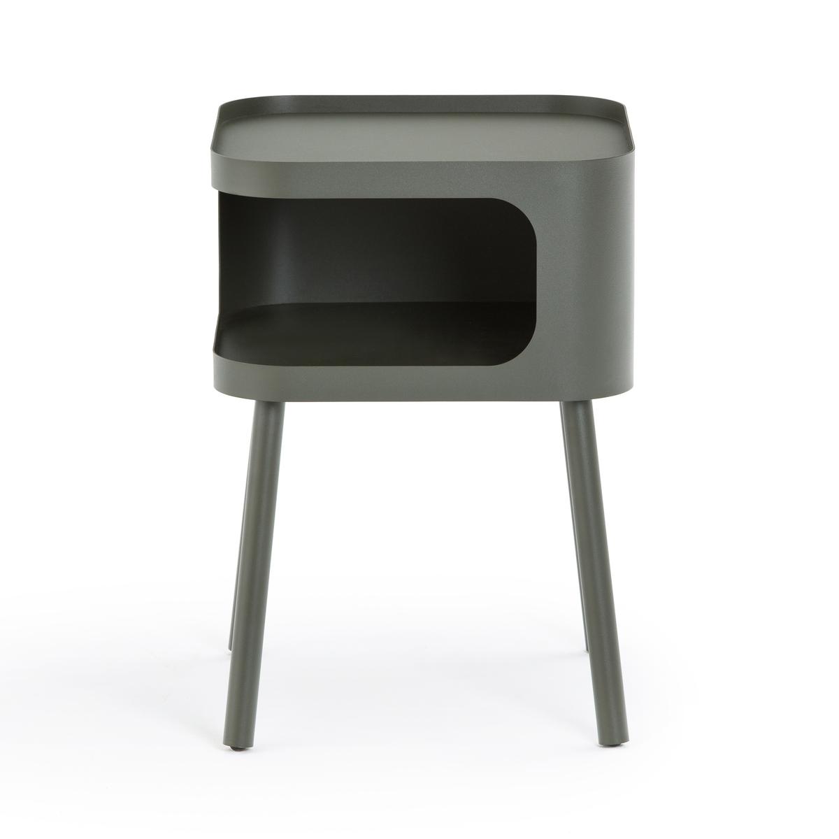 Столик LaRedoute Прикроватный из металла Malakou единый размер зеленый