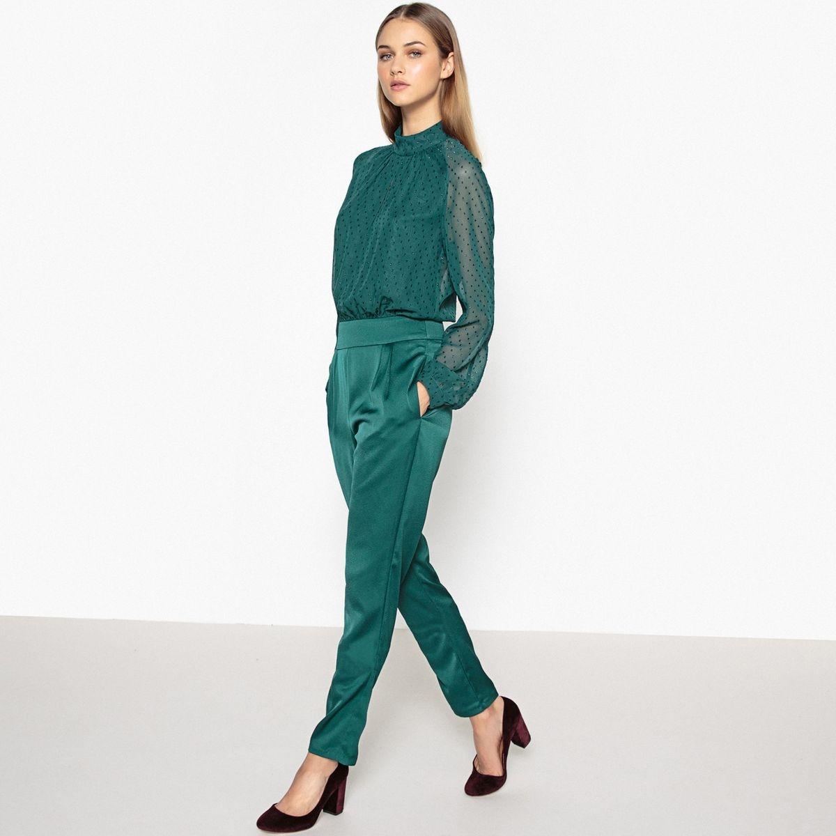 Combinaison pantalon plumetis