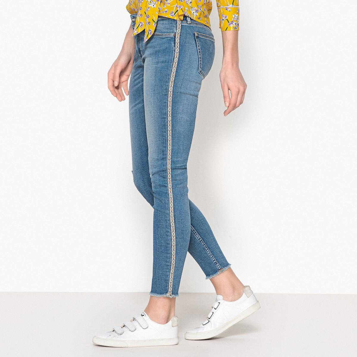 Джинсы-скинни укороченные LILY HERRING current elliott укороченные джинсы скинни