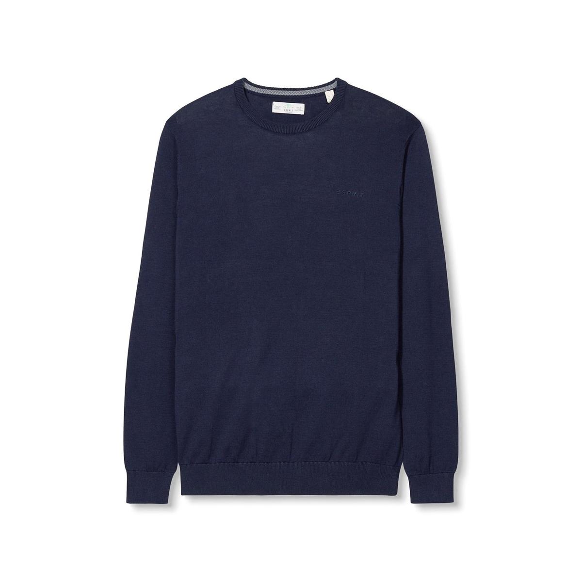 ПуловерСостав и описаниеМатериал : 100% хлопкаМарка : ESPRIT<br><br>Цвет: темно-синий