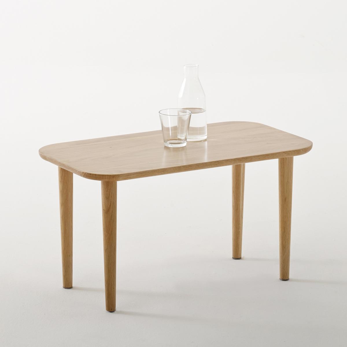 Столик журнальный низкий из массива дуба, Crueso столик из массива дуба ariles