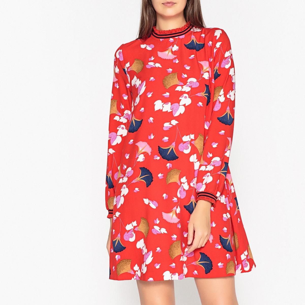 платье короткое с цветочным принтом ROSEMARY