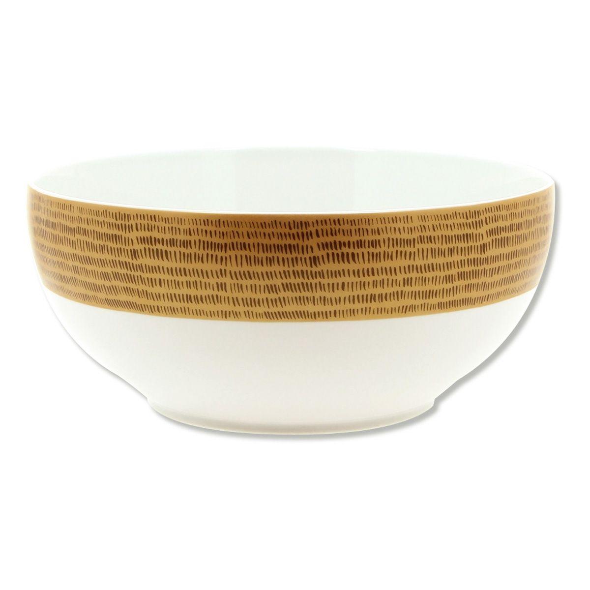 Saladier en porcelaine 25cm - DAYA DORE