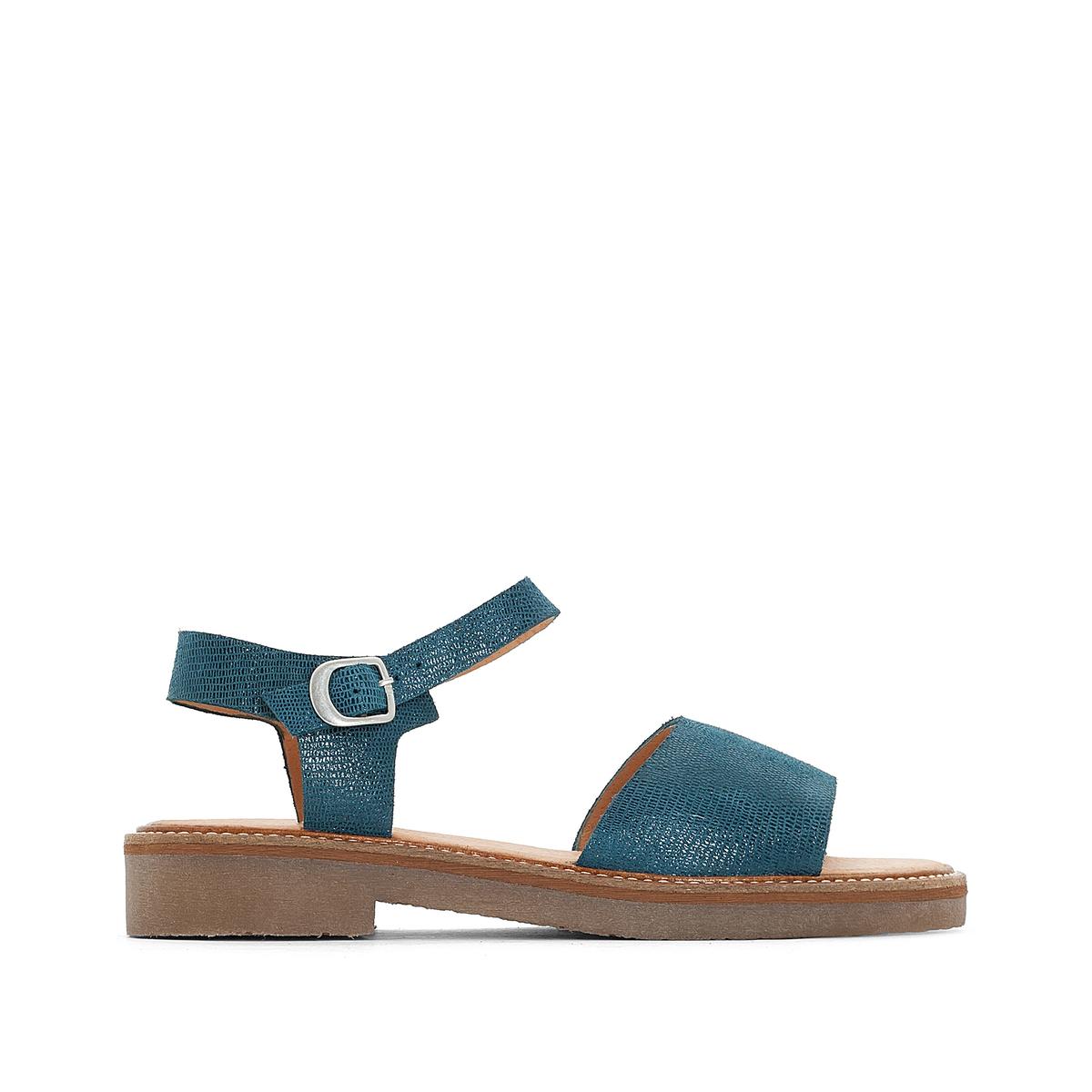 Sandálias em pele, EUROPEA