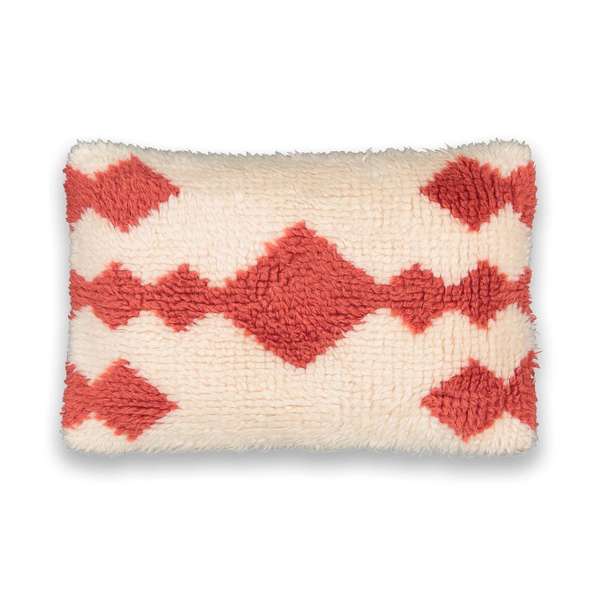 Чехол La Redoute На подушку-валик в берберском стиле Isigiqo 60 x 40 см оранжевый ковер la redoute в берберском стиле из шерсти tekouma 120 x 180 см бежевый