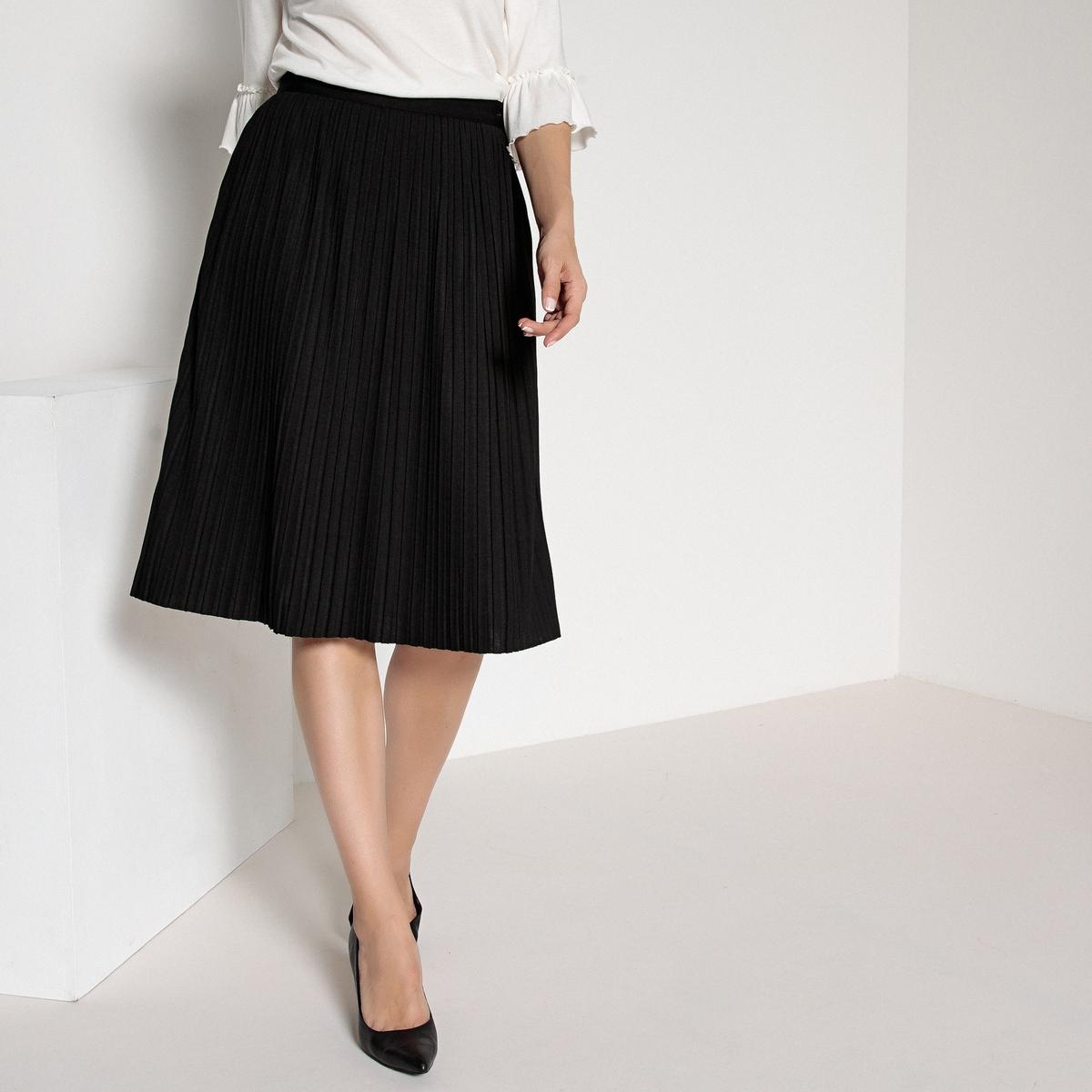 Imagen secundaria de producto de Falda plisada con largo por la rodilla - Anne weyburn