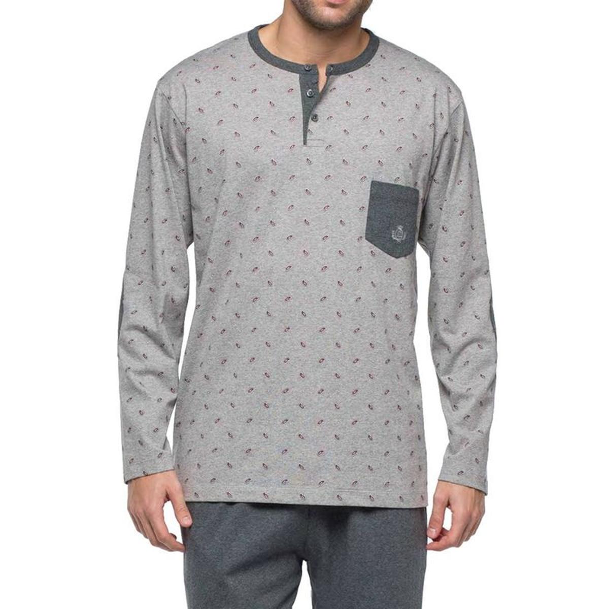 Pyjama long   en jersey de coton
